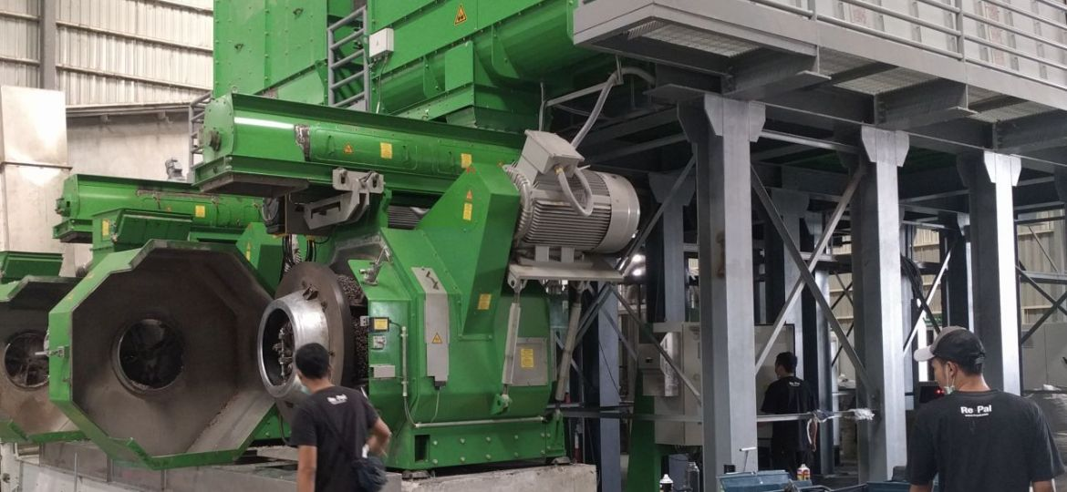 production of pelleted refuse-derived fuels