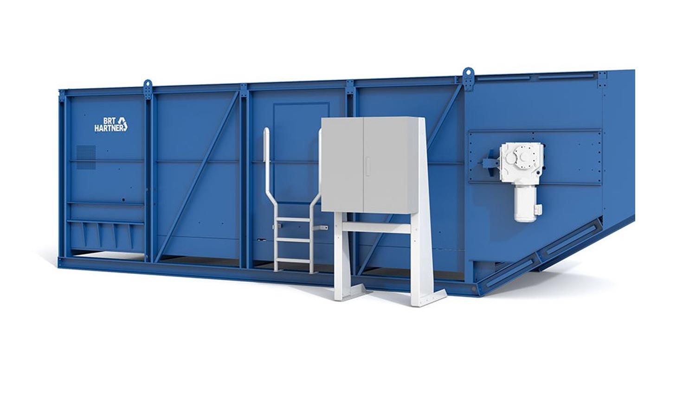 Feed and Metering Hopper / Dosing Bunker BRT HARTNER D