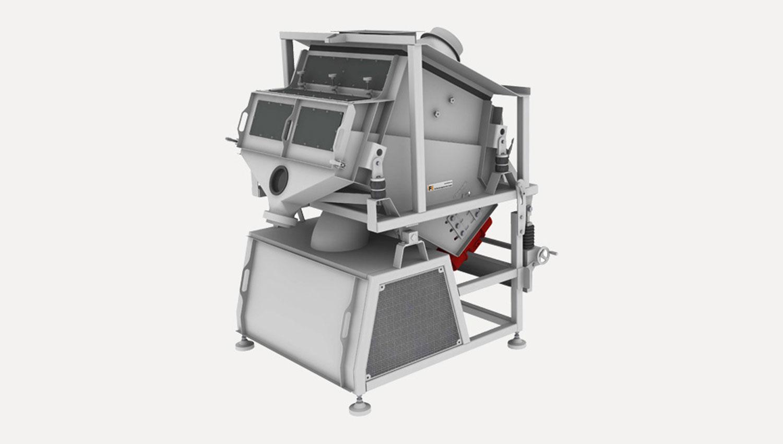 Fine sorting system IFE-SORT separation of fine bulk material