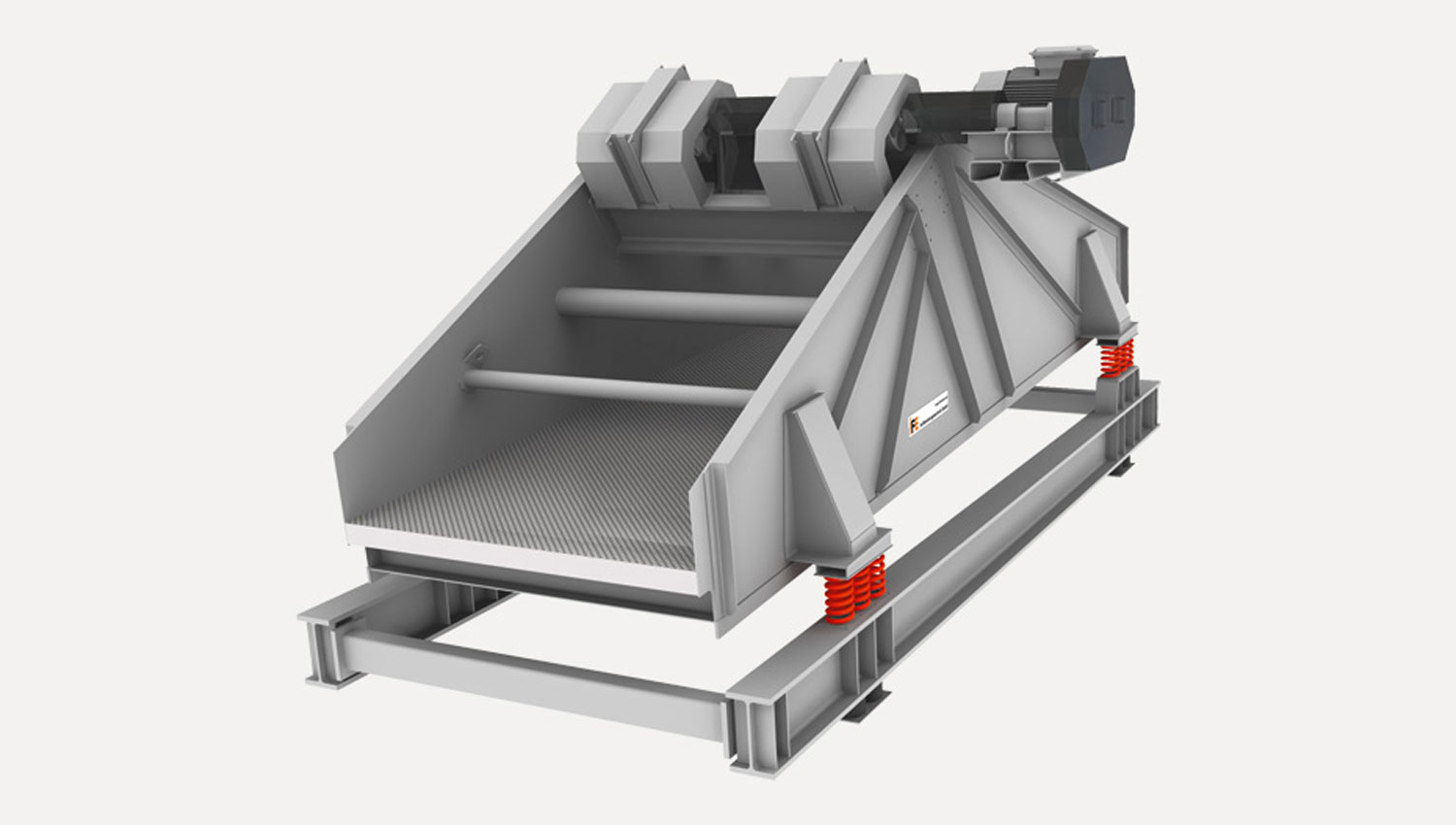 Linear motion vibrating screen tailor-made for all applications
