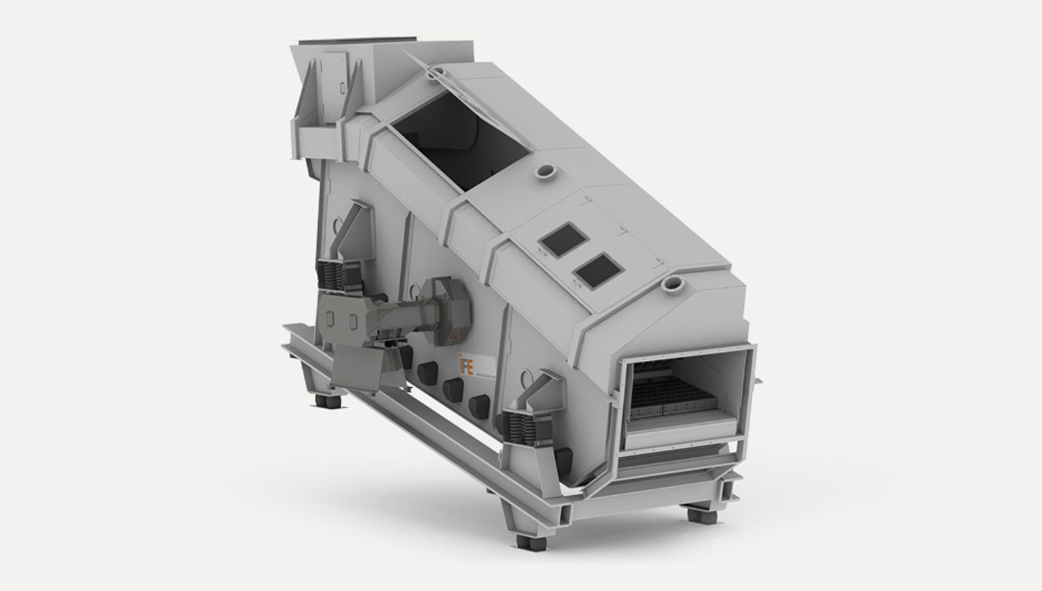 VARIOMAT doubledeck screen for the recycling industry