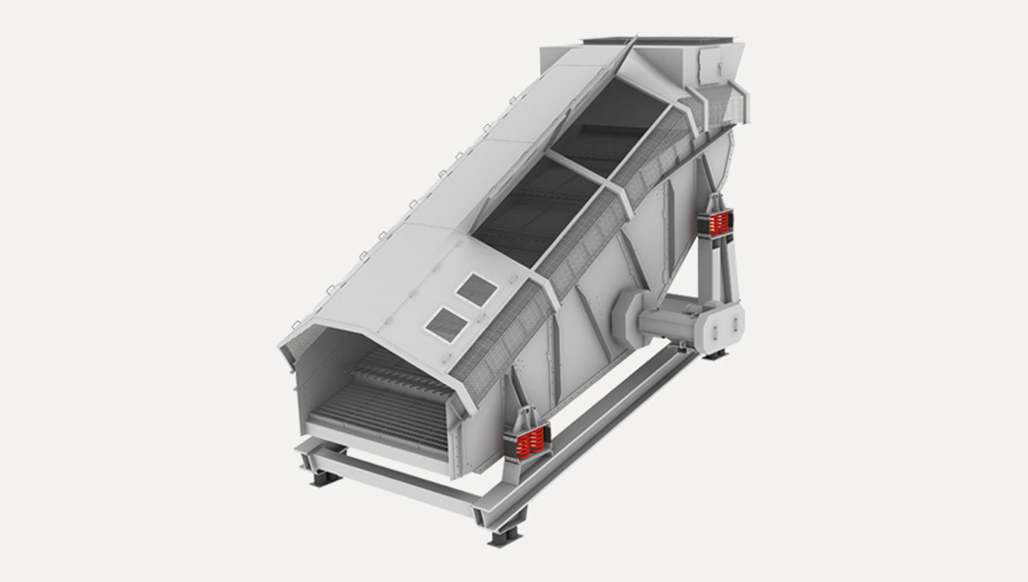 Waste screen for waste treatment and recycling